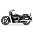 128x128px size png icon of cruise bike