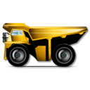 128x128px size png icon of dumper