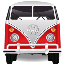 128x128px size png icon of Volkswagen Bulli Bus