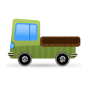 128x128px size png icon of lorry