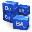 128x128px size png icon of Behance Shipping Box