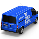 128x128px size png icon of Behance Van Back