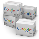 128x128px size png icon of Google Shipping Box