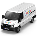 128x128px size png icon of Google Van Front