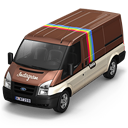 128x128px size png icon of Instagram Van Front