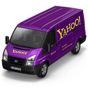 128x128px size png icon of Yahoo Van Front