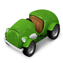 128x128px size png icon of Green Car