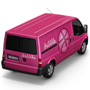 128x128px size png icon of Dribbble Van Back
