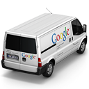 128x128px size png icon of Google Van Back