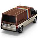 128x128px size png icon of Instagram Van Back