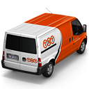 128x128px size png icon of TNT Van Back