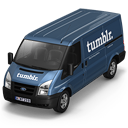 128x128px size png icon of Tumblr Van Front