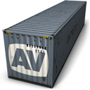 128x128px size png icon of AV