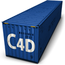 128x128px size png icon of C4d