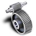 128x128px size png icon of Pinion gear