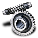 128x128px size png icon of Worm gear