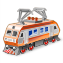 128x128px size png icon of electric locomotive