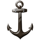 128x128px size png icon of Anchor