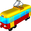 128x128px size png icon of Tram