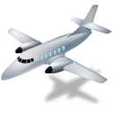128x128px size png icon of Airplane