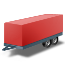 128x128px size png icon of CarTrailer