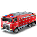 128x128px size png icon of FireTruck