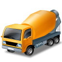 128x128px size png icon of MixerTruck