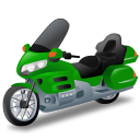 128x128px size png icon of TouringMotorcycle