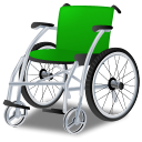 128x128px size png icon of Wheelchair