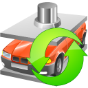 128x128px size png icon of Car utilization