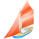 128x128px size png icon of Yacht