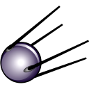 128x128px size png icon of First satellite