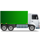 Truck Right Green Icon