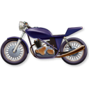 128x128px size png icon of Motorbike