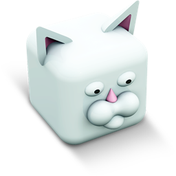 256x256px size png icon of kitty