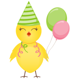 256x256px size png icon of party chicken