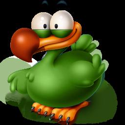 256x256px size png icon of The Extinct Flightless Adium Bird
