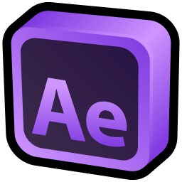 256x256px size png icon of Adobe After Effects