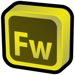 256x256px size png icon of Adobe Fireworks