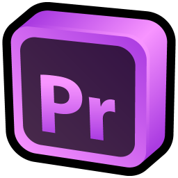 256x256px size png icon of Adobe Premiere