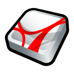 256x256px size png icon of Adobe Acrobat Reader