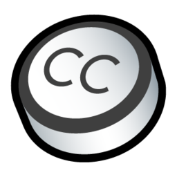 256x256px size png icon of Creative Commons