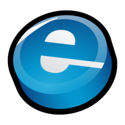 256x256px size png icon of Internet Explorer