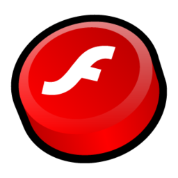 256x256px size png icon of Macromedia Flash