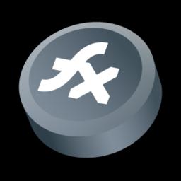 256x256px size png icon of Macromedia Flex