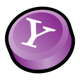 256x256px size png icon of Yahoo Messenger Alternate