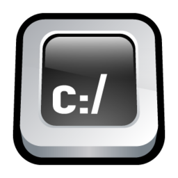 256x256px size png icon of Command Prompt