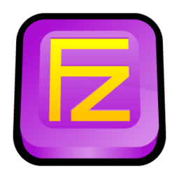 256x256px size png icon of File Zilla