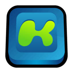 256x256px size png icon of Kazaa Media Desktop