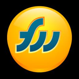 256x256px size png icon of Macromedia Fireworks MX